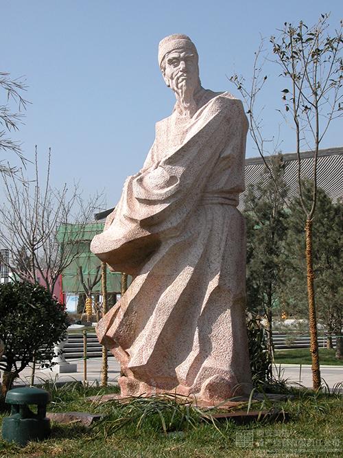 西安大雁塔广场雕塑-西安美院资产经营有限责任公司