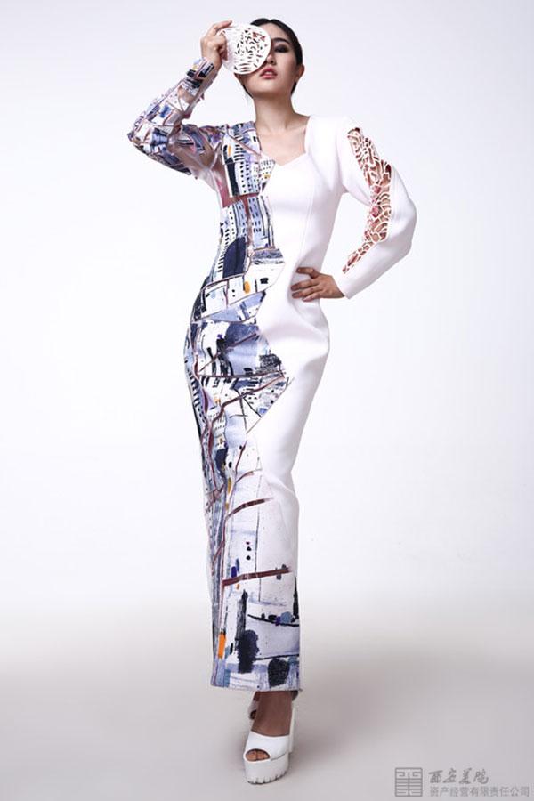 【西美微画廊】西安美术学院服装系2015届毕业设计作品展——风行